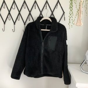 CALVIN KLEIN super soft zip up fleece